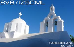 SV8/IZ5CML  Paros island EU-067   2014